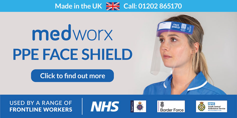 Medworx PPE Face Shield Visor